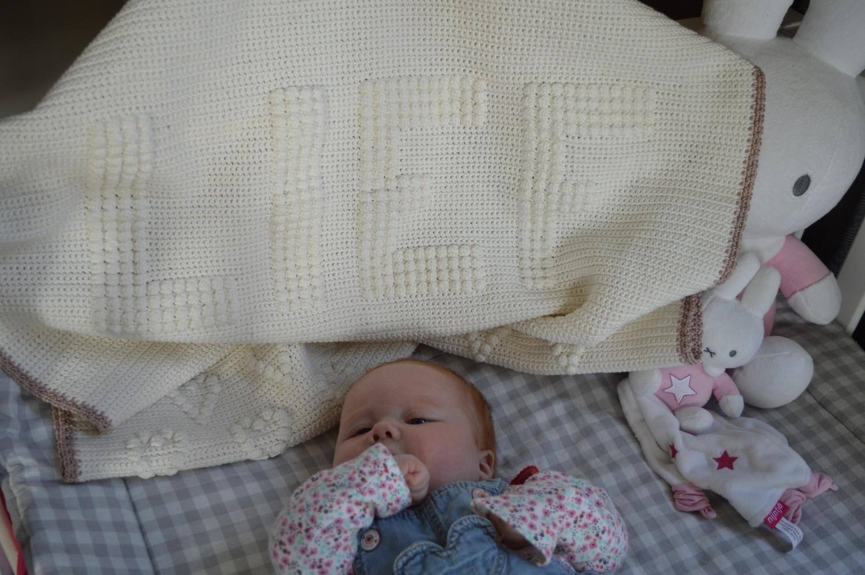 Wat Een Lief Babydekentje Lossen Vasten